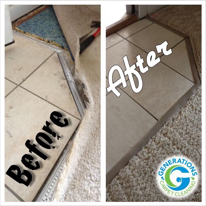 carpet repair - Generations Carpet Cleaning