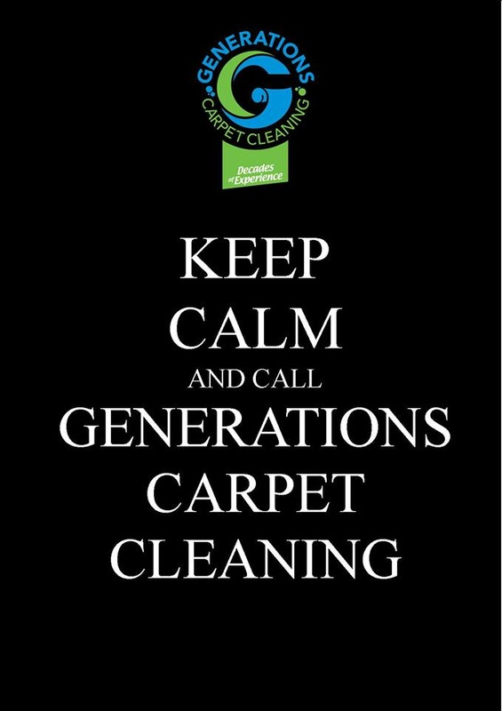 Keep Calm - Generations Carpet Cleaning