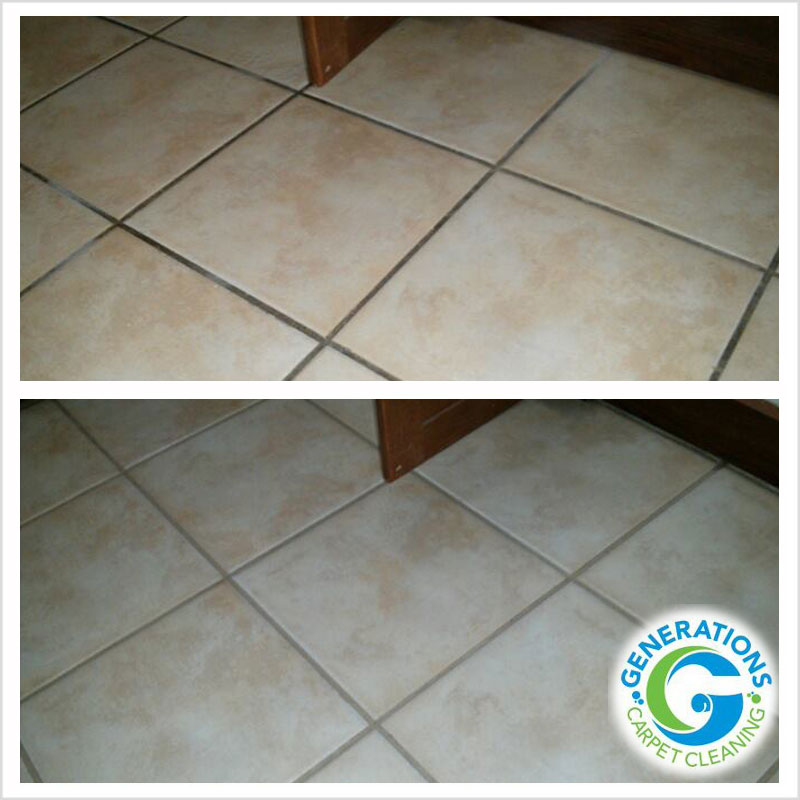 Tile & Grout cleaning - Generations Carpet Cleaning