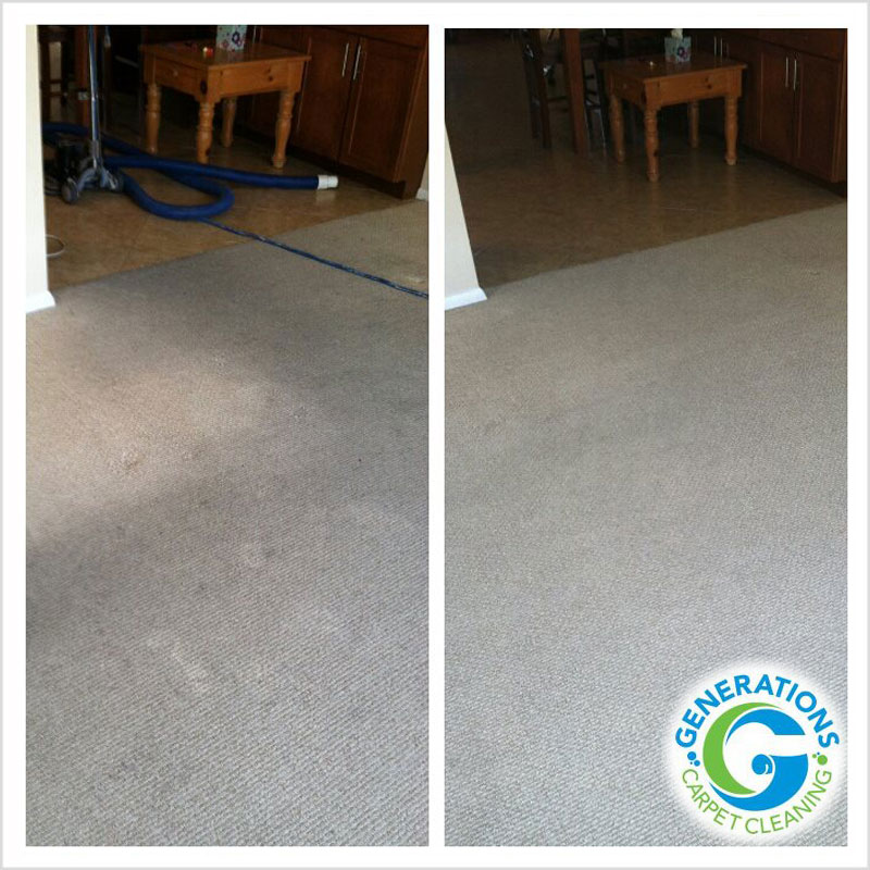 Generations Carpet Cleaning - carpet fading