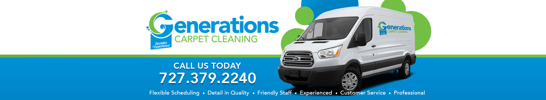 Tampa Bay Carpet Cleaning - Generations Carpet Cleaning