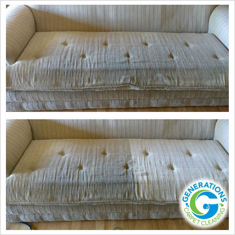 Upholstery cleaning - Generations Carpet Cleaning