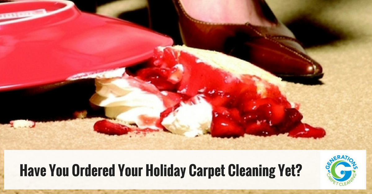 Have You Scheduled Your Holiday Season Carpet Cleaning Yet?