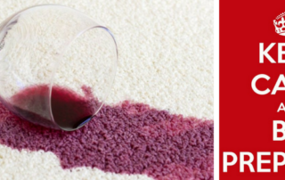 Keep Calm Be Prepared - Generations Carpet Cleaning